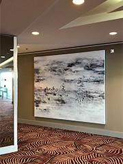 Fotografie der Ausstellung im Waldorf Astoria Berlin 2018