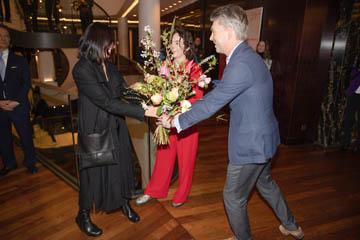 Fotografie der Ausstellung im Waldorf Astoria Berlin 2019